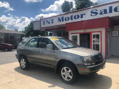 2000 Lexus RX 300 for sale at TNT Motor Sales in Oregon IL