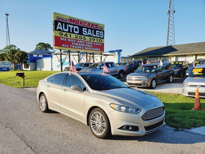 2015 Ford Fusion for sale at Mox Motors in Port Charlotte FL
