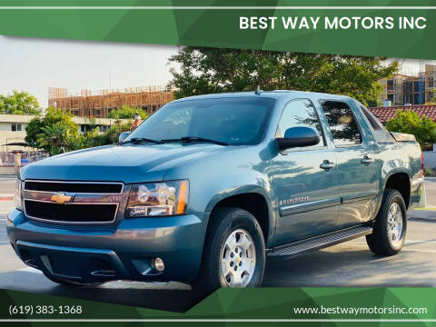 2008 Chevrolet Avalanche for sale at BEST WAY MOTORS INC in San Diego CA