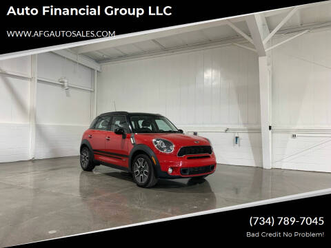 2012 MINI Cooper Countryman for sale at Auto Financial Group LLC in Flat Rock MI