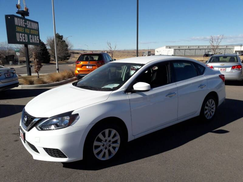 2017 Nissan Sentra for sale at More-Skinny Used Cars in Pueblo CO