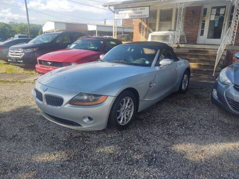 2003 BMW Z4 for sale at Ray Moore Auto Sales in Graham NC