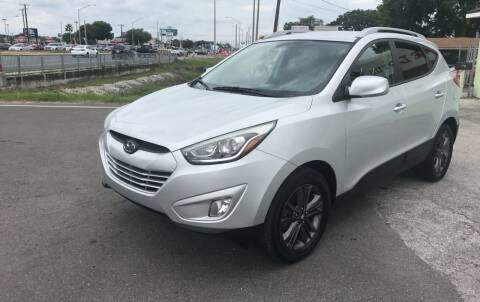 2014 Hyundai Tucson for sale at Reliable Motor Broker INC in Tampa FL