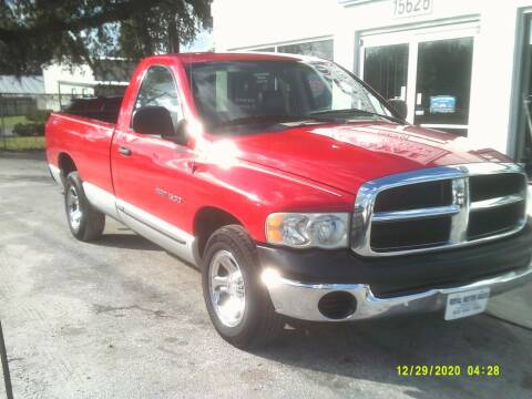 2004 Dodge Ram for sale at ROYAL MOTOR SALES LLC in Dover FL