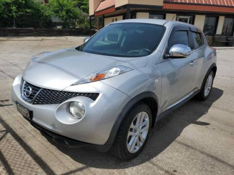 2013 Nissan JUKE for sale at THE TRAIN AUTO SALES & RENTALS in Taylors SC