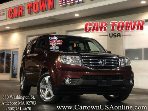 2013 Honda Pilot for sale at Car Town USA in Attleboro MA