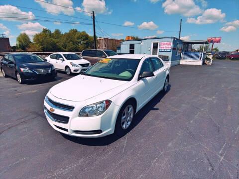 2012 Chevrolet Malibu for sale at DISCOUNT AUTO SALES in Murfreesboro TN