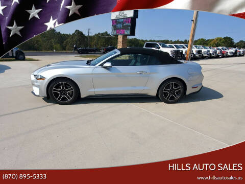 2019 Ford Mustang for sale at Hills Auto Sales in Salem AR