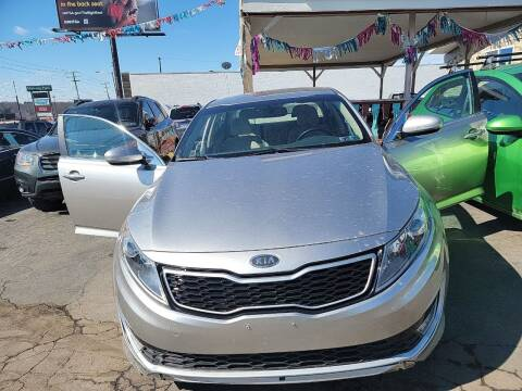 2011 Kia Optima Hybrid for sale at JORDAN AUTO SALES in Youngstown OH