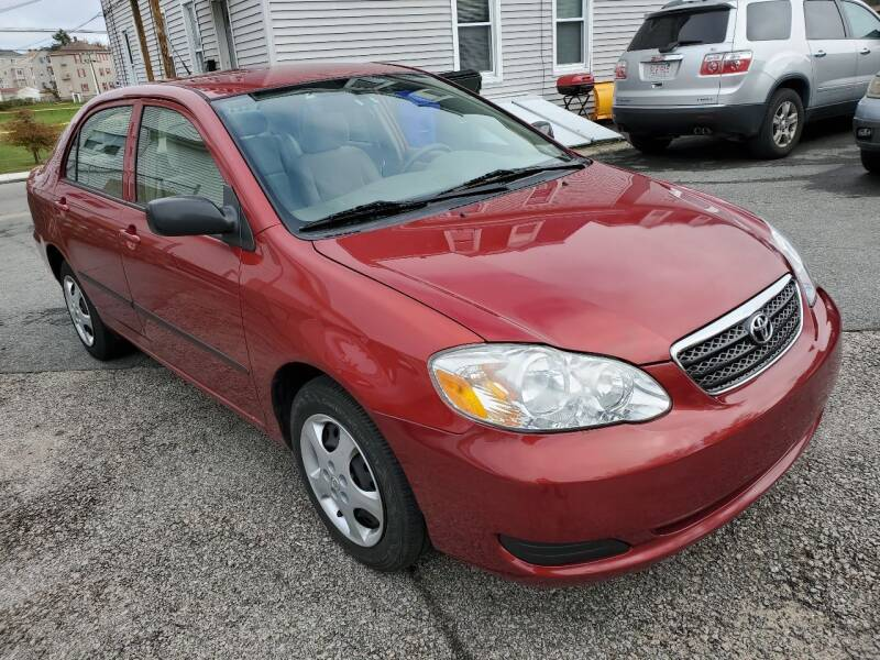 2008 Toyota Corolla for sale at Fortier's Auto Sales & Svc in Fall River MA