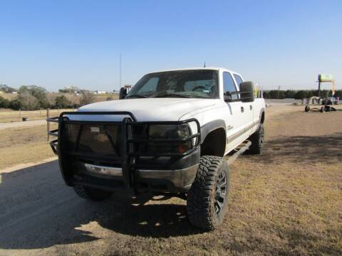 2001 Chevrolet Silverado 2500HD for sale at Hill Top Sales in Brenham TX