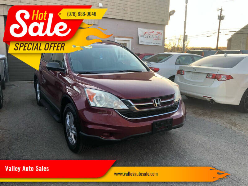 2010 Honda CR-V for sale at VALLEY AUTO SALES in Methuen MA