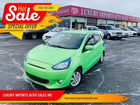 2015 Mitsubishi Mirage for sale at LUXURY IMPORTS AUTO SALES INC in North Branch MN