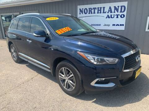 2018 Infiniti QX60 for sale at Northland Auto in Humboldt IA