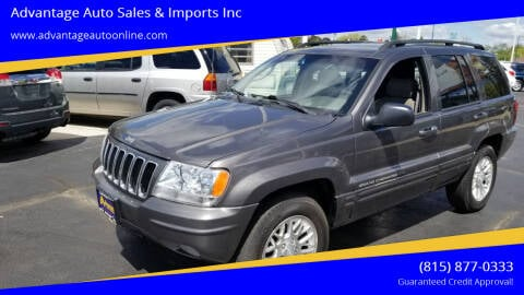 2002 Jeep Grand Cherokee for sale at Advantage Auto Sales & Imports Inc in Loves Park IL
