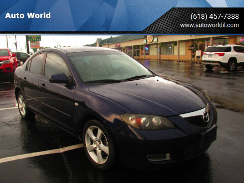 2009 Mazda Mazda3 Sedan for sale at Auto World in Carbondale IL