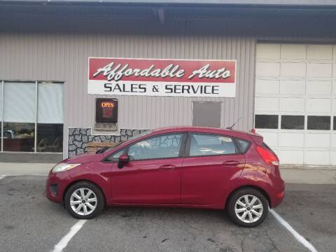 2011 Ford Fiesta for sale at Affordable Auto Sales & Service in Berkeley Springs WV