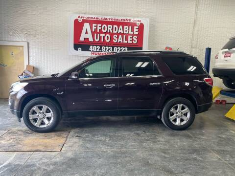 2008 Saturn Outlook for sale at Affordable Auto Sales in Humphrey NE