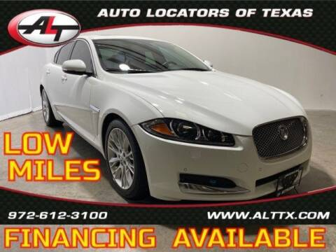 2013 Jaguar XF for sale at AUTO LOCATORS OF TEXAS in Plano TX