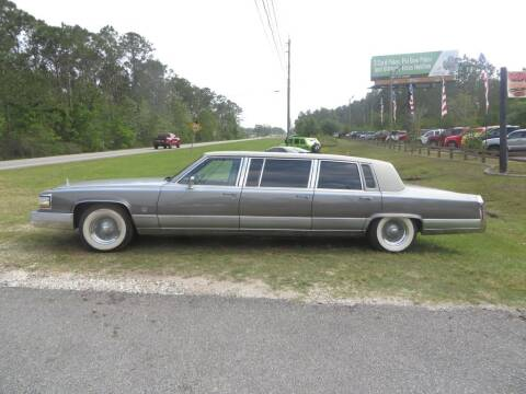 1991 Cadillac Brougham for sale at Ward's Motorsports in Pensacola FL