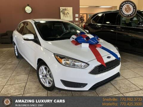 2016 Ford Focus for sale at Amazing Luxury Cars in Snellville GA
