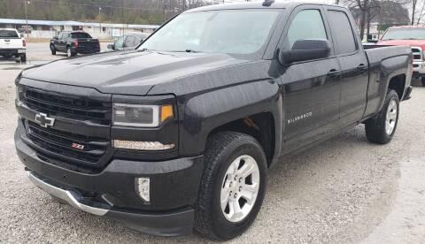 2016 Chevrolet Silverado 1500 for sale at COOPER AUTO SALES in Oneida TN