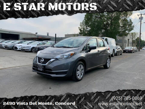 2017 Nissan Versa Note for sale at E STAR MOTORS in Concord CA