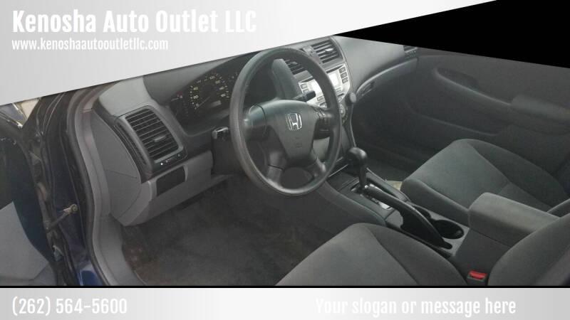2007 Honda Accord for sale at Kenosha Auto Outlet LLC in Kenosha WI