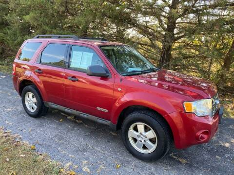 2008 Ford Escape for sale at Kansas Car Finder in Valley Falls KS