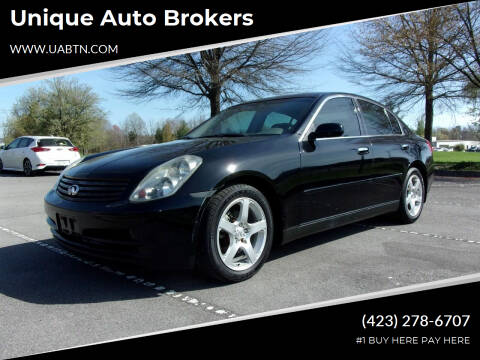 2004 Infiniti G35 for sale at Unique Auto Brokers in Kingsport TN