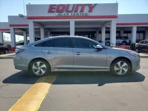 2017 Hyundai Sonata Plug-in Hybrid for sale at EQUITY AUTO CENTER in Phoenix AZ