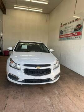 2016 Chevrolet Cruze Limited for sale at Antonio's Auto Sales - Antonio`s  3001 in Pasadena TX
