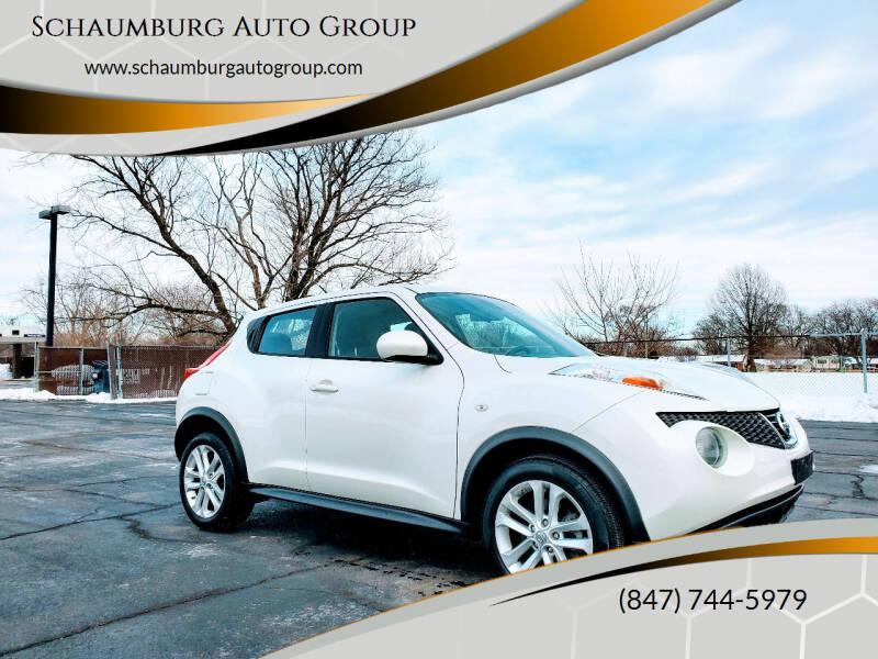 2014 Nissan JUKE for sale at Schaumburg Auto Group in Schaumburg IL