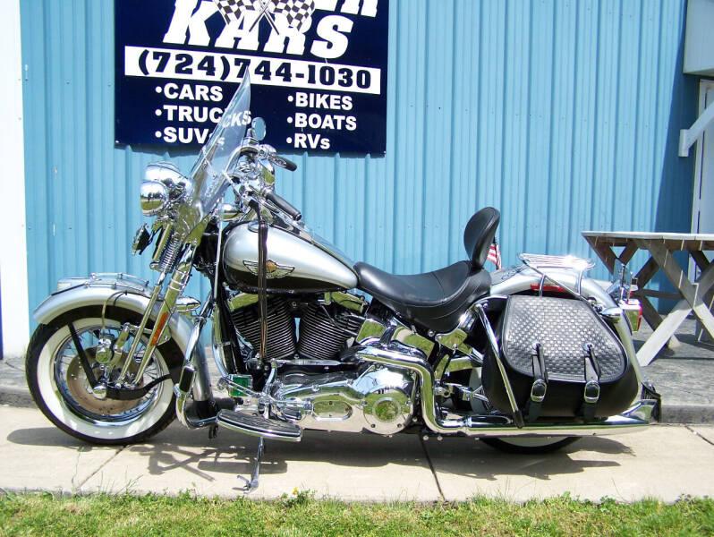 2003 Harley-Davidson Heritage Softail  for sale at Keiter Kars in Trafford PA