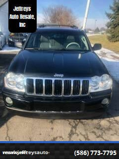 2005 Jeep Grand Cherokee for sale at Jeffreys Auto Resale, Inc in Clinton Township MI