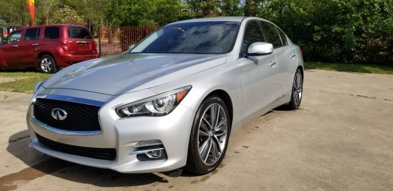 2015 Infiniti Q50 for sale at Green Source Auto Group LLC in Houston TX