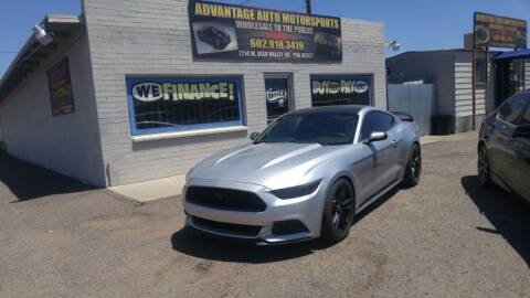 2017 Ford Mustang for sale at Advantage Motorsports Plus in Phoenix AZ