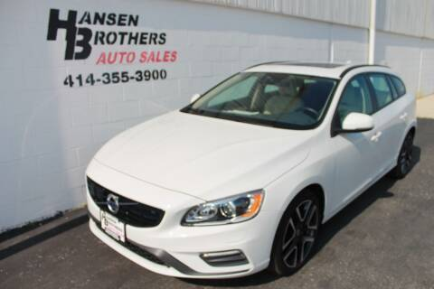 2018 Volvo V60 for sale at HANSEN BROTHERS AUTO SALES in Milwaukee WI