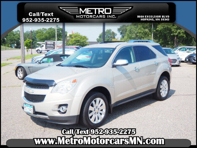 2011 Chevrolet Equinox for sale at Metro Motorcars Inc in Hopkins MN