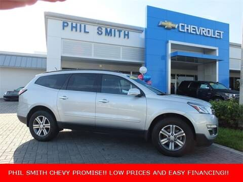 2016 Chevrolet Traverse for sale at PHIL SMITH AUTOMOTIVE GROUP - Manager's Specials in Lighthouse Point FL