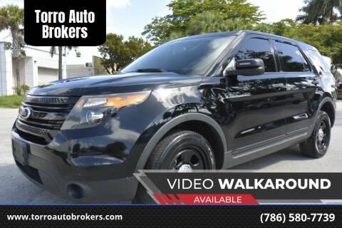 2013 Ford Explorer for sale at Torro Auto Brokers in Miami FL