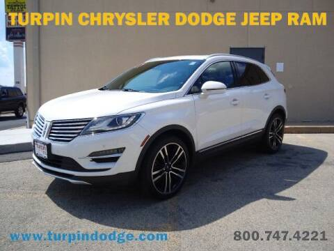 2017 Lincoln MKC for sale at Turpin Dodge Chrysler Jeep Ram in Dubuque IA