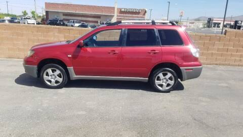 2003 Mitsubishi Outlander for sale at Ryan Richardson Motor Company in Alamogordo NM