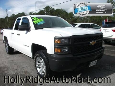 2015 Chevrolet Silverado 1500 for sale at Holly Ridge Auto Mart in Holly Ridge NC