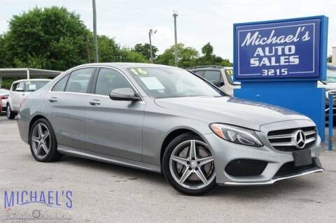 2016 Mercedes-Benz C-Class for sale at Michael's Auto Sales Corp in Hollywood FL