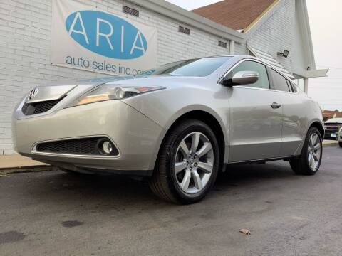 2011 Acura ZDX for sale at ARIA AUTO SALES in Raleigh NC