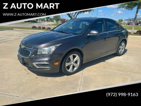 2015 Chevrolet Cruze for sale at Z AUTO MART in Lewisville TX