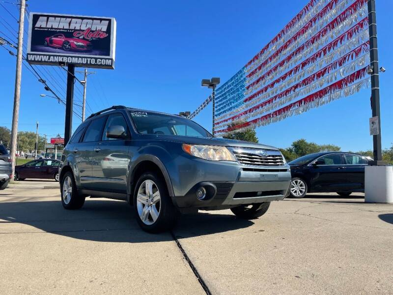2009 Subaru Forester for sale at Ankrom Auto in Cambridge OH