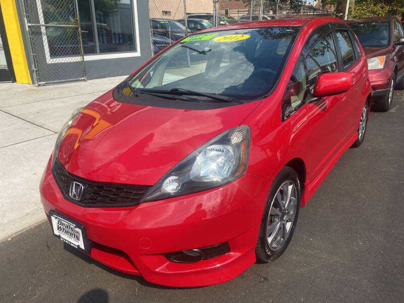 2012 Honda Fit for sale at DEALS ON WHEELS in Newark NJ
