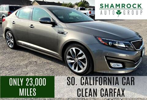2015 Kia Optima for sale at Shamrock Group LLC #1 in Pleasant Grove UT